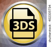 3ds file extension. 3ds icon...