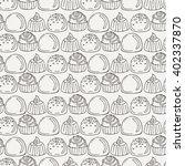vector candy and lollipop... | Shutterstock .eps vector #402337870