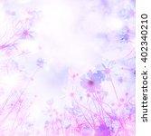 art   soft blur of cosmos...   Shutterstock . vector #402340210