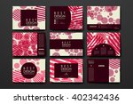 set of modern design banner... | Shutterstock .eps vector #402342436