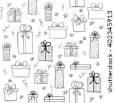 seamless vector pattern with... | Shutterstock .eps vector #402345913