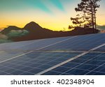 power plant using renewable... | Shutterstock . vector #402348904