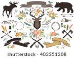 Rustic Illustrations   Set Of...