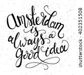 conceptual handdrawn phrase... | Shutterstock .eps vector #402351508