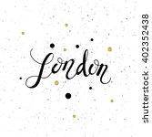conceptual hand drawn phrase...   Shutterstock .eps vector #402352438
