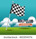 golf club design  | Shutterstock .eps vector #402354376