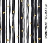 black stripes seamless pattern... | Shutterstock .eps vector #402356410