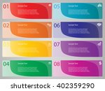 vector elements for infographic.... | Shutterstock .eps vector #402359290