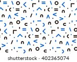 seamless pattern in black... | Shutterstock .eps vector #402365074