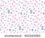 seamless pattern in  colors... | Shutterstock .eps vector #402365083
