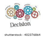 gears and decision mechanism | Shutterstock .eps vector #402376864