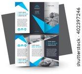 brochure design  brochure... | Shutterstock .eps vector #402397246