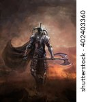 Warlord The Mighty Demon Knight