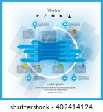 vector of infographic | Shutterstock .eps vector #402414124