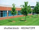 industrial building exterior... | Shutterstock . vector #402467299