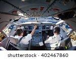 The Aircraft Pilots At Work....