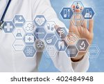 new technologies for life | Shutterstock . vector #402484948