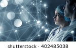 innovative technologies in... | Shutterstock . vector #402485038