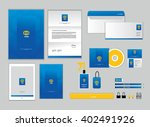 corporate identity template for ... | Shutterstock .eps vector #402491926