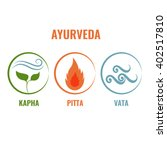 ayurveda vector illustration.... | Shutterstock .eps vector #402517810