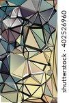 randomly scattered triangles of ... | Shutterstock .eps vector #402526960