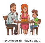 vector cartoon image of a... | Shutterstock .eps vector #402531073
