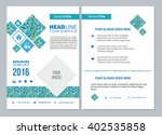 business brochure design... | Shutterstock .eps vector #402535858