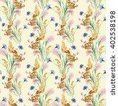 grass  flower of meadow ... | Shutterstock . vector #402538198