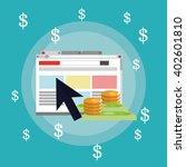 payment online concept design   ... | Shutterstock .eps vector #402601810