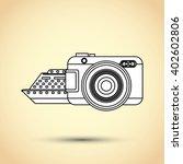 travel icon design  vector... | Shutterstock .eps vector #402602806