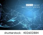 abstract technology futuristic... | Shutterstock .eps vector #402602884