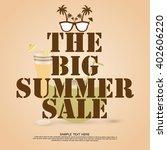 summer flyer  | Shutterstock .eps vector #402606220