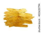 gold metal foil glitter brush... | Shutterstock .eps vector #402620794