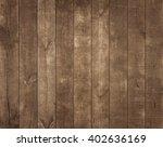 old wooden background. rustic... | Shutterstock . vector #402636169