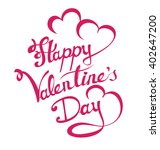 happy valentines day | Shutterstock .eps vector #402647200