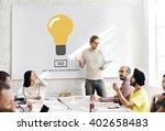 light bulb ideas creativity... | Shutterstock . vector #402658483