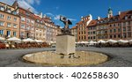 The Old Town  Warsaw  Poland