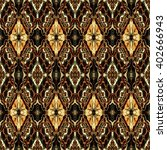 abstract decorative brown... | Shutterstock . vector #402666943