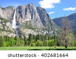 Yosemite Falls In Yosemite...