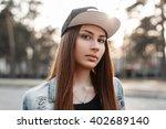close up portrait of a...   Shutterstock . vector #402689140