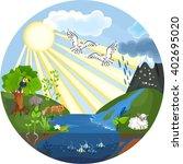 environment | Shutterstock .eps vector #402695020