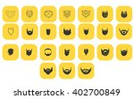 yellow beard icon | Shutterstock .eps vector #402700849