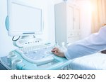 interior of examination room... | Shutterstock . vector #402704020