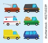 urban traffic vehicles cars... | Shutterstock .eps vector #402710239