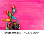 traditional colorful table... | Shutterstock . vector #402716044