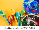 traditional colorful table... | Shutterstock . vector #402716869