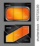 corporate tri fold brochure... | Shutterstock .eps vector #402723130