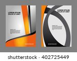 stylish presentation of... | Shutterstock .eps vector #402725449