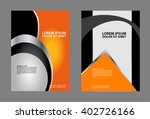 vector business brochure  flyer ... | Shutterstock .eps vector #402726166
