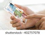 business  technology  mass... | Shutterstock . vector #402757078